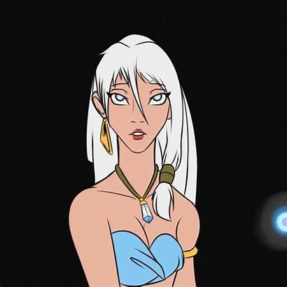 Atlantis Skin Dark Lost Empire Kida Disney