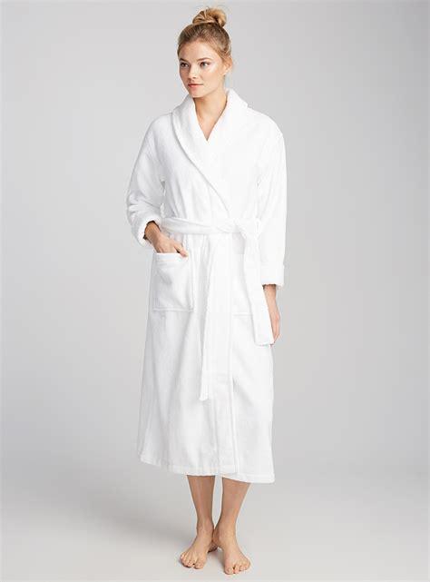 robe de chambre en ratine le peignoir ratine spa miiyu magasinez des
