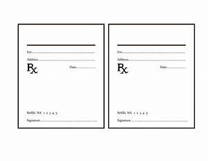 Fake prescription pad template business template for Fake prescription pad template