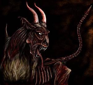 Evil goat by Shaytan666 on DeviantArt