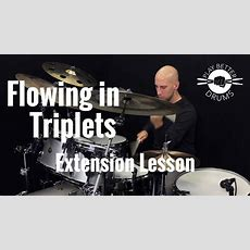 Flowing In Triplets Vocab Lesson  Play Better Drums W Louie Palmer Youtube