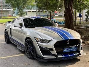Ford Mustang GT S550 Silver Vorsteiner V-FF 103 | Wheel Front