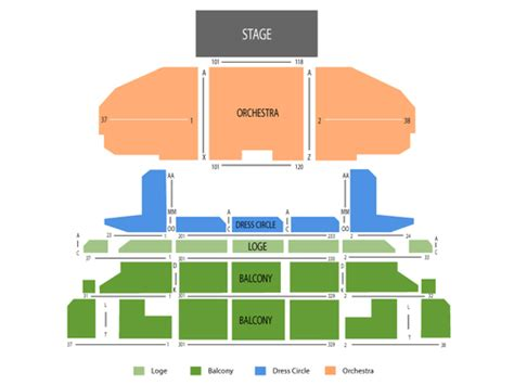 cadillac palace theatre master theater seating charts cadillac palace theatre seating chart and tickets