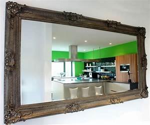 Barock Spiegel Xxl : riesiger wandspiegel xxl size spiegel antik silber palast spiegel ebay ~ Frokenaadalensverden.com Haus und Dekorationen