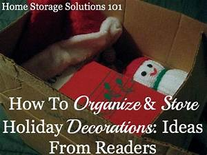 Holiday Decoration Storage Ideas Hall Fame
