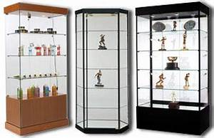 Wooden Display Cases Merchandise, Collectibles & Sports