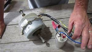 Diy How To Wire Single Phase 115 Volt Blower Motor With
