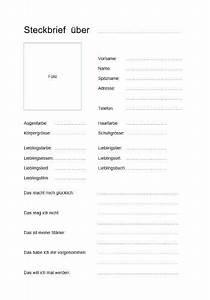 Besonders Auf Englisch : kostenlose steckbrief vorlage im word format zum download die vorlage eignet sich besonders im ~ Buech-reservation.com Haus und Dekorationen