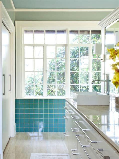 turquoise bathroom by garry mertins