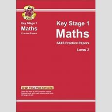 Ks1 Maths Sats Practice Papers  Level 2 By Cgp Books (paperback, 2002) 1841460877 Ebay
