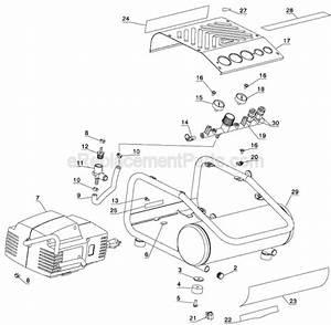 Dewalt D55141 Parts List And Diagram