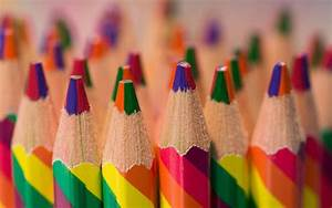 Colorful Colored Pencils Wallpaper 40946 1680x1050 px ...