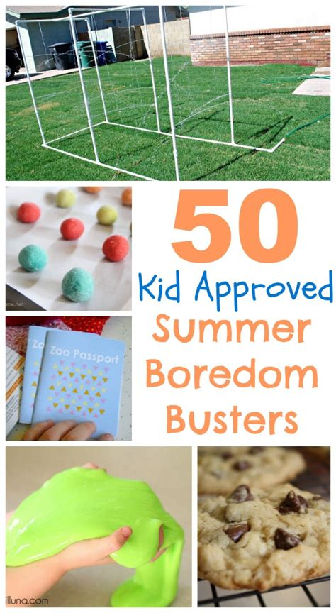 50 Summer Boredom Busters for kids Classy Clutter