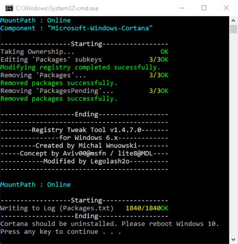 how to hide disable or uninstall cortana in windows 10