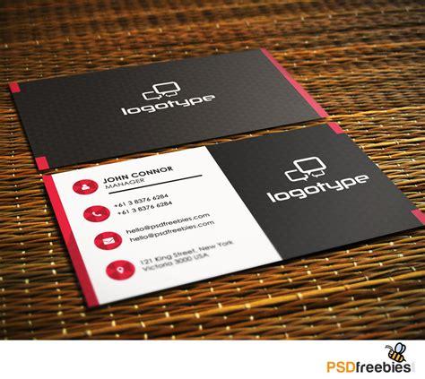 business card templates psd  psd