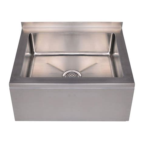 stainless wall mount sink whitehaus collection noah 39 s collection 28 in stainless