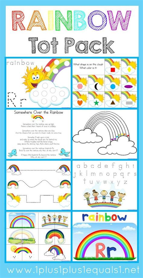 rainbow tot pack free raibow theme printables for tot 951 | bac3646a3f92313c83cbbf6544fddb0b
