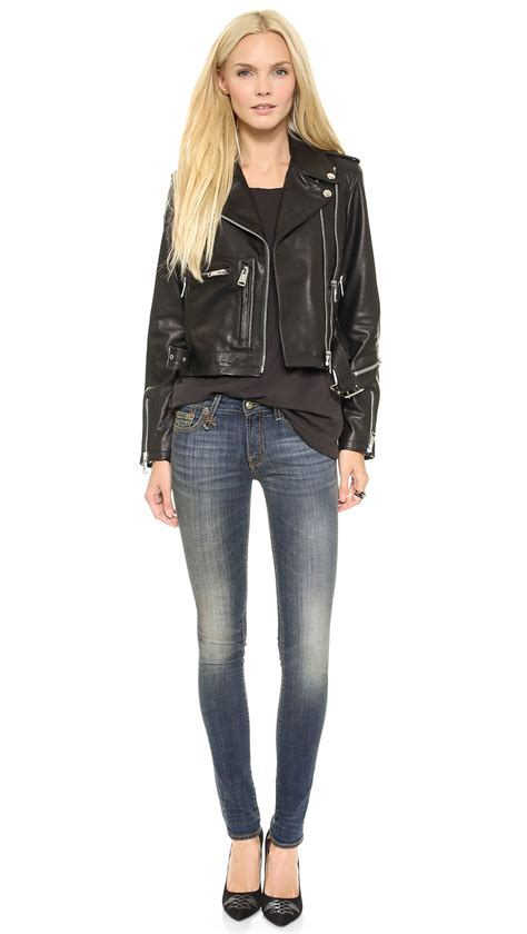 R13 Skinny Jeans - New Vintage in Blue - Lyst