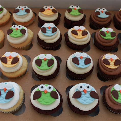 Baby Shower Cakes Girls by Owl Cupcakes Whipped Bakeshop