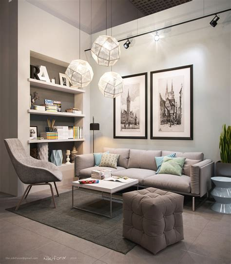 21 Relaxing Living Rooms With Gorgeous Modern Sofas 21 relaxing living rooms with gorgeous modern sofas 17