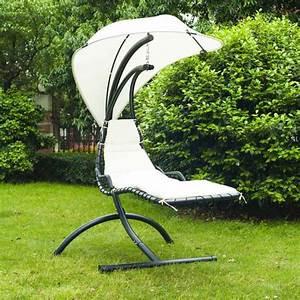 Pied Pour Fauteuil Suspendu : chaise longue suspendue et fauteuil relax ~ Teatrodelosmanantiales.com Idées de Décoration