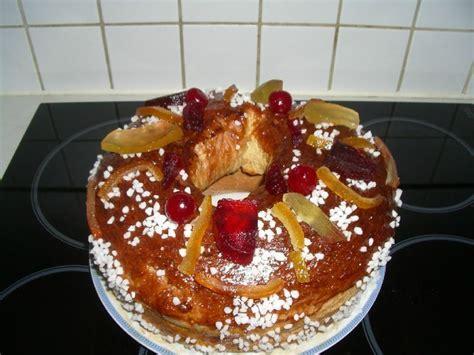 cuisine provencale recette brioche des rois provençale au levain naturel mes p