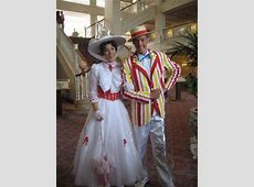 Mary Poppins and Bert inside hotel Picture of