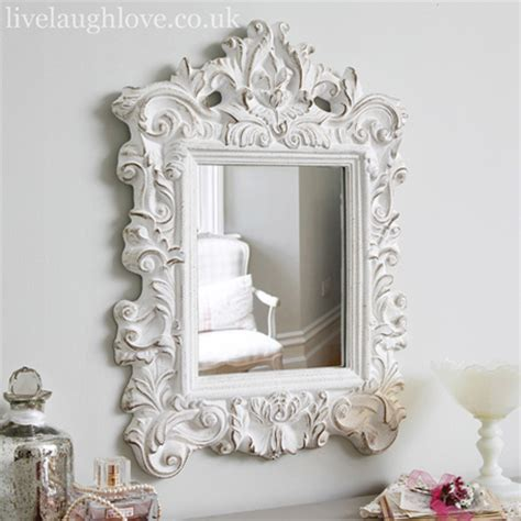 shabby chic mirrors french style mirror shabby chic mirror from live laugh love