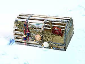 decorative nautical lobster trap kitchen dining