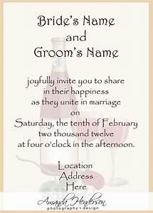 25 best ideas about wedding invitation wording on With wedding invitations words sample