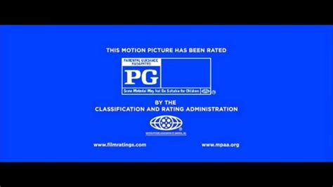 Logo MPAA PG Rating