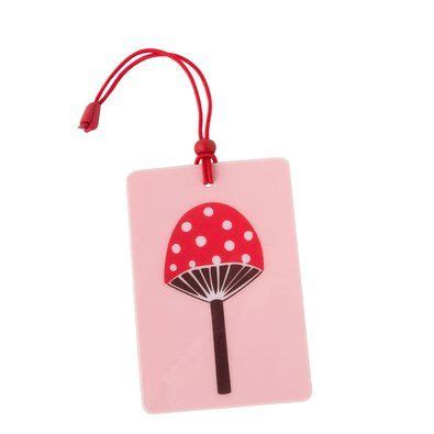 luggage tag pink forest friends  releases shop kikkik stationery gifts  images