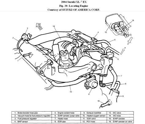 Suzuki Xl7 Engine Diagram by 2004 Cavalier Engine Diagram Purge Valves