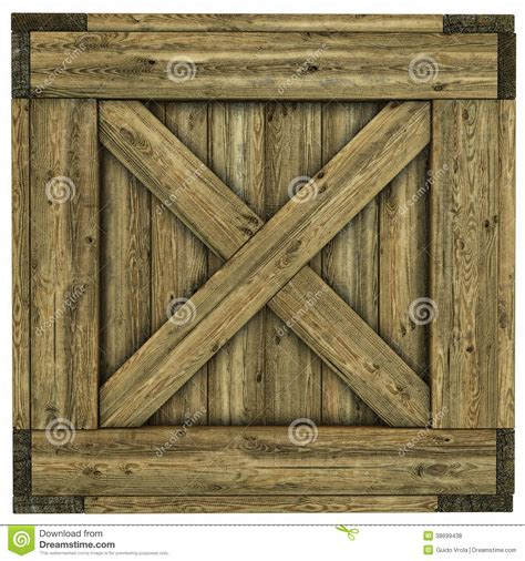 wood crate stock illustration illustration