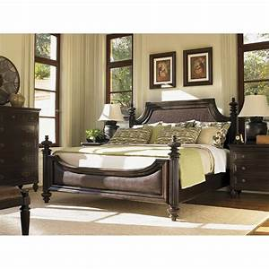 Tommy bahama 537 134c royal kahala harbour king point bed for Home furniture by design bahamas