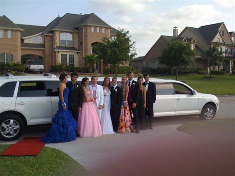 Prom Limo by Porsche Limo For Prom Limo Service Houston Limousines