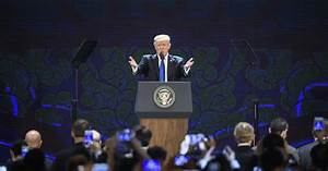 Trump stresses 'America first' trade practices in Vietnam ...