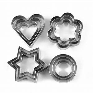 Cookie Cutter Stainless Steel Cookie Cutter With 4Shape