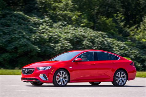 this is the all new 2018 buick regal gs an enthusiasts