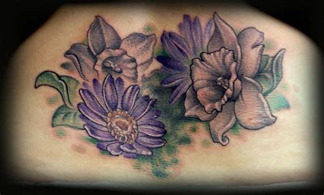 tattoo inspiration aster  daffodil tattoo uploaded