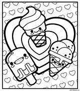 Coloring Printable Sheets Scentos Monster Colouring Spring Ice Cream Splendi Cartoon Niobrarachalk Character Cookie Crayon Drive2vote sketch template