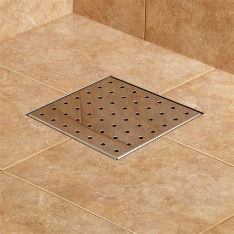 walk in shower tile werner square shower drain bathroom