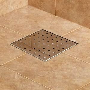 Werner Square Shower Drain - Bathroom