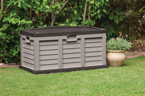 Outdoor Garden Storage Box Container Gardening Ideas