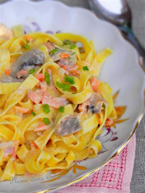 pates al dente moins calorique p 226 tes cr 233 meuses au saumon et chignons une plume dans la cuisine