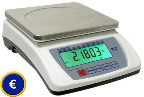 balance pour cuisine balance de cuisine électronique pce bsh 6000