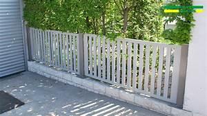 Hausfriedensbruch Grundstück Ohne Zaun : alu gartenzaun aus aluminium pulverbeschichtet in ral farben ~ Lizthompson.info Haus und Dekorationen