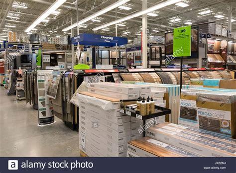 home depot flooring department flooring materials lowe s hardware store pasco washington state stock photo royalty free