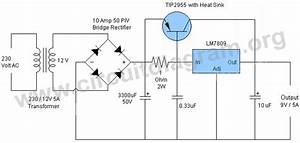 9v 5a Regulated Power Supply
