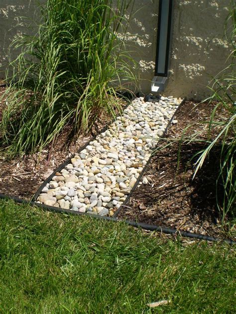 landscape drainage channel guard downspout discharge outlet the drainage products store walk the aisle in style